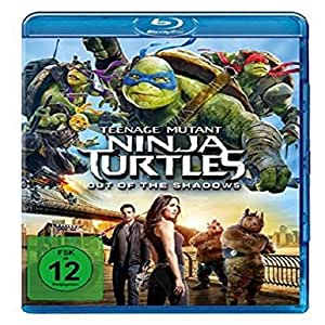 Teenage Mutant Ninja Turtles - Out of the Shadows [Blu-ray]