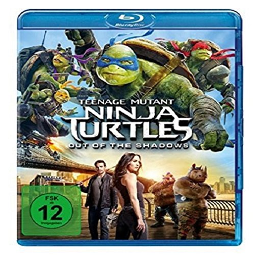 Teenage Mutant Ninja Turtles - Out of the Shadows [Blu-ray] (Turtle Ninja Kleinkind)
