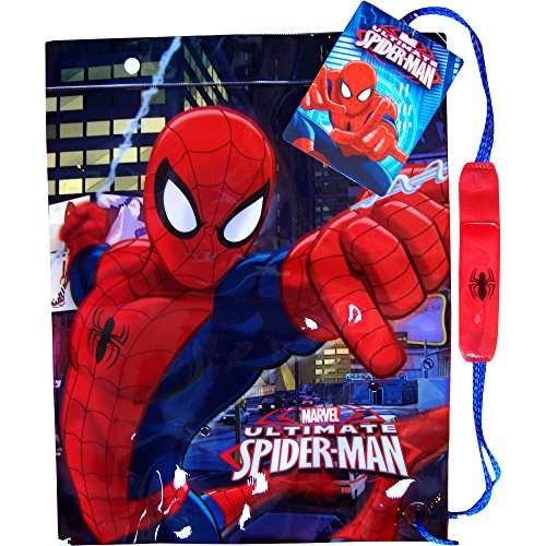 Marvel Ultimate SpiderMan Drawstring School Sports Gym & Swimming Bag