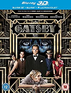 The Great Gatsby [Blu-ray 3D + Blu-ray] [2013] [Region Free]