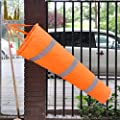 30 Airport Windsock Rip-stop Outdoor Wind Measurement Sock Bag + Reflective Belt by eastar