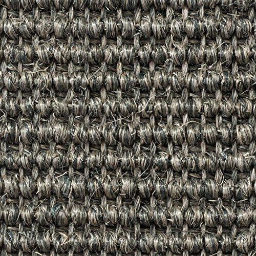 Teppichboden Auslegware | Sisal Naturfaser Schlinge | 400 cm Breite | hell-grau | Meterware, verschiedene Größen | Größe: 1 Muster