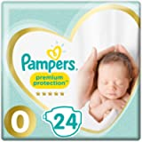 Pampers Size 0 Premium Protection Baby Nappies