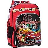 Disney Cars Mochila Escolar, 40 cm, Rojo