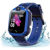 Smartwatch GPS Localizzatore per Bambini, IP67 Impermeabile Supporto per SOS e Chiamate Distanza Monitoraggio Remoto…