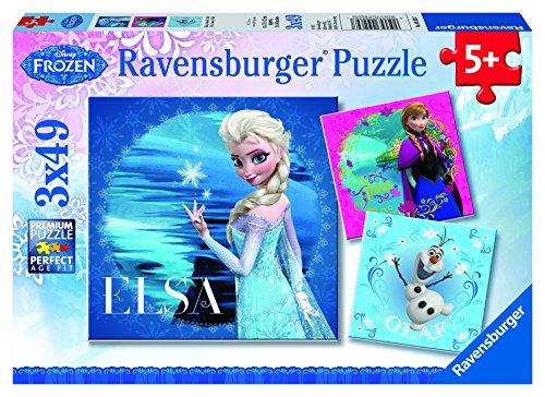 Ravensburger 09269 - Elsa, Anna und Olaf (Für 5-jährige Mädchen Spielzeug)