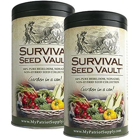 Augason Farms Patriot Survival Seed Vault (2 Pk.) by Augason Farms