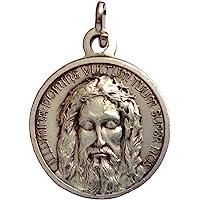 I G J The Holy Face Shroud of Christ Medal - Real Italian Masterpiece …