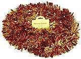 Christmas Concepts 3m / 9.8ft Klobig/Feines Weihnachtslametta - Weihnachtsdekoration - Hochwertige Lametta (Rotes Gold)