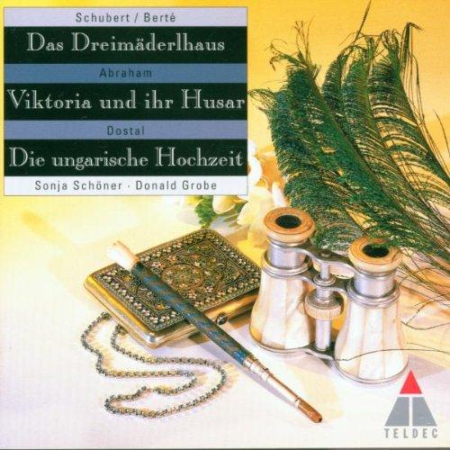 Operetten-Querschnitte - Das Dreimäderlhaus / Viktoria und ihr Husar / Die ungarische Hochzeit