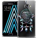 Caseink - Coque Housse Etui Samsung Galaxy A3 2016 (A310) [Crystal Motif HD Collection Dreamy Design Attrape Rêves Rainbow - Rigide - Ultra Fin - Imprimé en France]