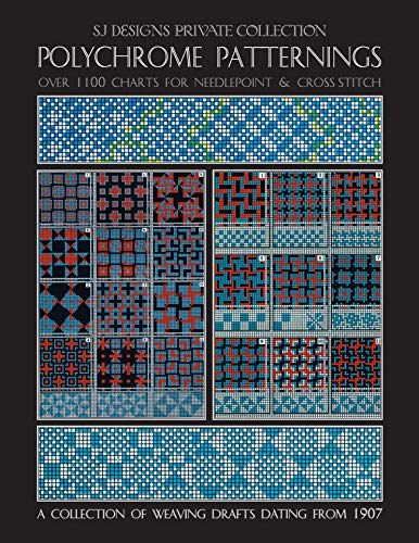 POLYCHROME PATTERNINGS: Over 1100 Charts for Needlepoint & Cross Stitch (English Edition)