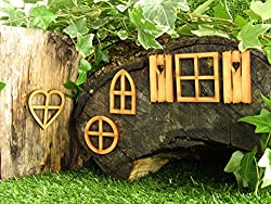 Fairy Window Craft Kit - Mixed Pack of Fairy Door Accessories