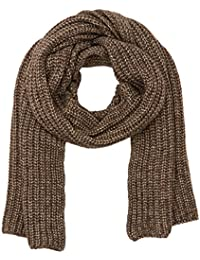 Stefanel Womens Sciarpa Costa Inglese Scarf, Brown (3285 Marrone), One Size Stefanel
