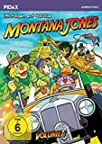 DVD Cover 'Montana Jones, Vol. 1 / Die ersten 26 Folgen der erfolgreichen Anime-Serie (Pidax Animation) [4 DVDs]
