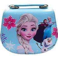 BAIBEI Kinderhandtasche, Eiskönigin Kinder Umhängetasche, für Mädchen zum Ausgehen oder Reisen, Schulter-Tasche(18 * 15…