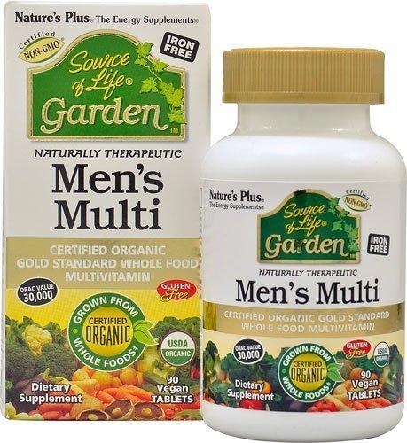 Natures Plus Source Of Life Garden Mens Multi (90 Vegan Tablets)