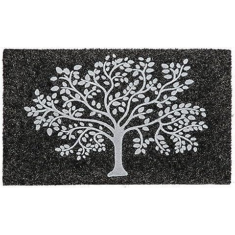 Evergreen Albero della vita Tappetino in fibra di cocco, 71,1x 40,6cm