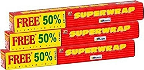Hindalco Superwrap Aluminium Foil(pack of 3)