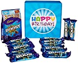 The Ultimate Cadbury Boost Chocolate Lovers Happy Birthday Gift Box - By Moreton Gifts - Full of Boost Bars & Boost Bites