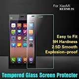 [Sponsored]Frosskin Xiaomi Red Mi3S Tempered Glass Screen Protector Screen Guard 2.5D 9H Hardness Screen Protector Tempered Glass Xiaomi Red Mi3S