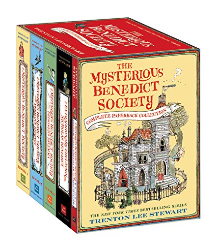 The Mysterious Benedict Society Complete Paperback Collection por Trenton Lee Stewart