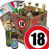 Geburtstagsgeschenke für Männer zum 18. - Bier Geschenk Box mit Bieren der Welt + gratis Bierbuch + Geschenk Karten + Bier - Bewertungsbogen Bierset + Bier Geschenk + Personalisierte Geschenk-Box - 18 + Bier Geschenke Geschenkideen. Besser als Bier selber machen oder selbst brauen. Geschenk 18 Geburtstagsgeschenke Geschenke für Männer Geschenkidee Geschenk Idee Geschenk für Freund 18 Präsentkorb 18 Geburtstag Geschenken Geschenke für Männer zum Geburtstag 18 Männer