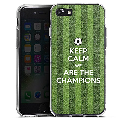 Apple iPhone X Silikon Hülle Case Schutzhülle Fußball Champions Sieger Silikon Case transparent