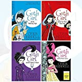 Chris Riddell Goth Girl Collection 4 Books Set (and the Wuthering Fright, and the Fete Worse Than Death, and the Ghost of a Mouse, and the Pirate Queen)