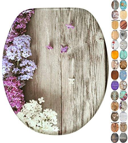 Sedile wc | grande scelta di belli sedili wc da legno robusto e di alta qualità (serenella)
