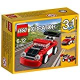 #1: Lego Red Racer, Multi Color