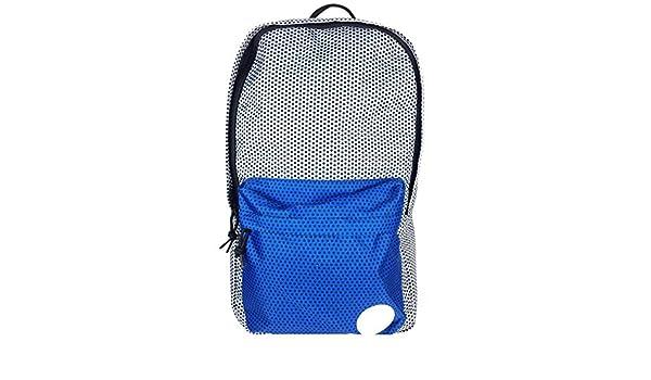 f432bf09caa027 Converse Backpack Bag Silver Blue Polka Dot Print One Size  Amazon.co.uk   Clothing