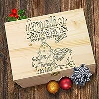TWISTED ENVY Personalised Santa Reindeer Christmas Eve Treat Box