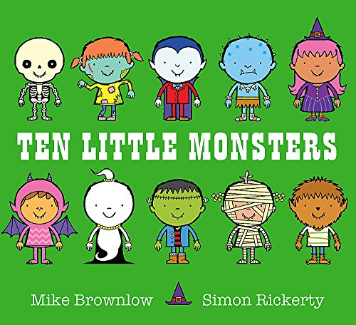 Ten Little Monsters (Halloween-party Uk In London)