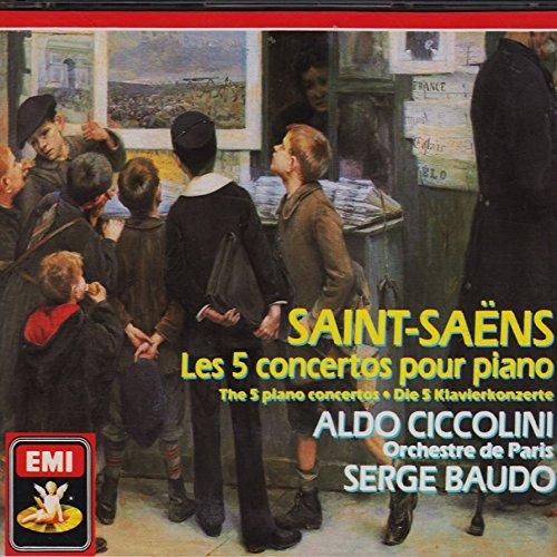 Saint Saëns : Les 5 concertos pour piano [Import USA]