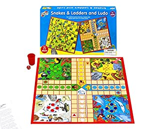 Galt Toys Snakes and Ladders Ludo Game Set