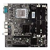 TXYFYP Scheda Madre del Computer Desktop P45 Slot Pci-E 16X Sata2.0 4 Supporto per CPU 771 e 775 Pin,Memoria di Generazione Ddr2