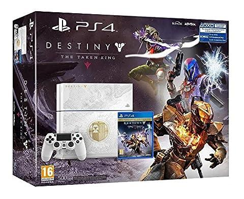 Pack PS4 500 Go édition spéciale + Destiny Le roi