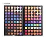 SMILEQ 120 Farben Renaissance Lidschatten Makeup Cosmetic Shimmer Matte Eyeshadow (120 Color, Mehrfarbig)