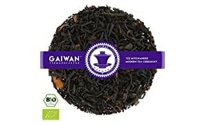 "Núm. 1406: Té negro orgánico ""Canela negra"" - hojas sueltas ecológico - 100 g - GAIWAN® GERMANY - té negro de la India, cassia"