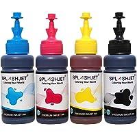 Splashjet T664 Refill Ink for Epson L130, L360, L380, L361, L565, L210, L220, L310, L350, L355, L365, L385, L405, L455…