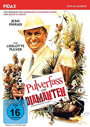 Bild von Pulverfass und Diamanten (Le gentleman de Cocody) / Explosiver Abenteuerfilm an Afrikas Elfenbeinküste mit Jean Marais und Liselotte Pulver (Pidax Film-Klassiker)