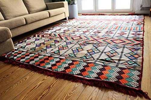 200cm x 300cm Kelim Orient Teppich Kelim Teppich/Fußmatte, Wandteppich für, Boden Läufer, Teppich, Teppiche, neuen, damaskunst S 1–6-20