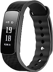 Mpow - Smartwatch con schermo per il battito cardiaco, contapassi, touchscreen per smartphone Android e iOS