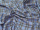 tartantay Plaid kariert Polyester Tartan passend Kleid