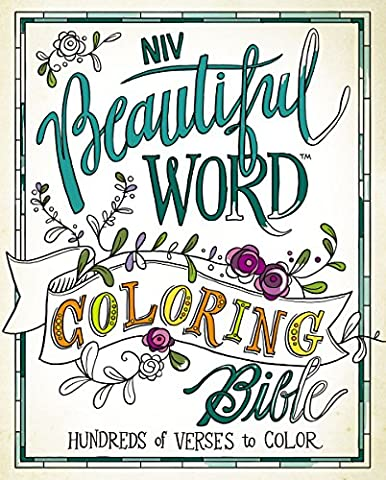 Holy Bible: New International Version, Beautiful Word Coloring, Hundreds of Verses to Color