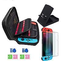 Kit accessori per Nintendo Switch - Custodia Nintendo Switch con 20 cartucce di gioco/cover trasparente per cover / 2…