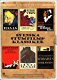 Swedish Silent Film Classics Collection - 6-DVD Box Set ( Häxan / Terje Vigen / Gösta Berlings saga / Erotikon / Herr Arnes pengar / Körkarl [ Origine Suédoise, Sans Langue Francaise ]