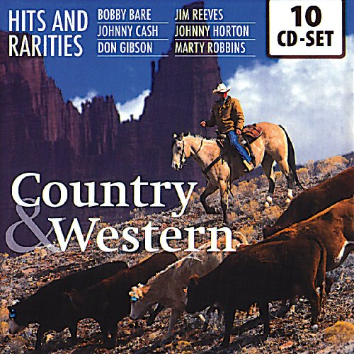Country & Western- 10 CD con 200 hit e brani rari