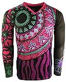 Geko Sport Frida fille/femmes Gardien de but en jersey, Femme, Black/Magenta/Purple/Turquoise
